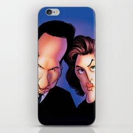 Files, Scully, Mulder,  iPhone Skin