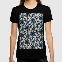 Indian Blue-Resist Pastel T-shirt