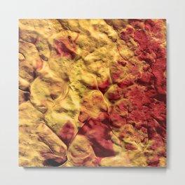 Volcano Spiral Metal Print