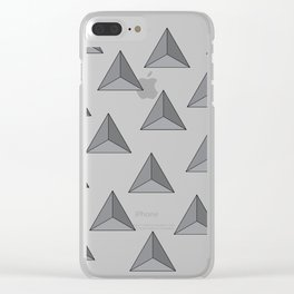 """Tri-angular"" Clear iPhone Case"