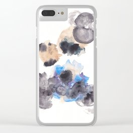 170714 Abstract Watercolour Play 10 |Modern Watercolor Art | Abstract Watercolors Clear iPhone Case