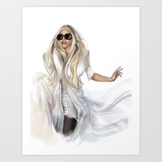 Mother Monster in  NYC Art Print