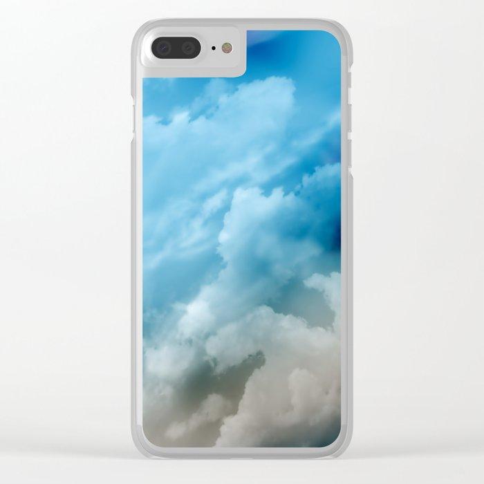 Clouds 2 Clear iPhone Case