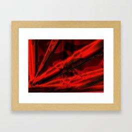 Folds of Silk Framed Art Print