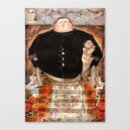 DPRK- The Opera Canvas Print
