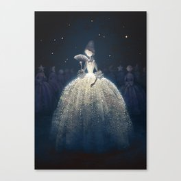 Moon countess Canvas Print