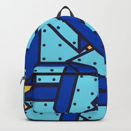 Geometric Pop Abstract Art 80's Backpack
