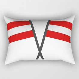 flag of austria Rectangular Pillow
