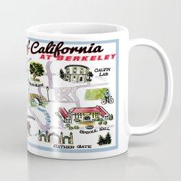 UC at Berkeley cute campus map Coffee Mug