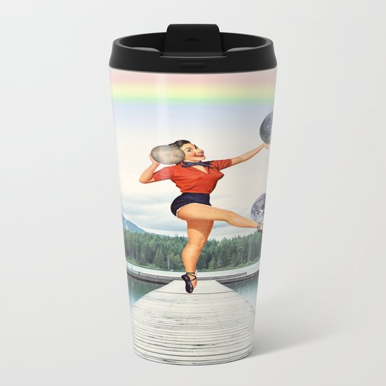 This is not a game Metal Travel Mug