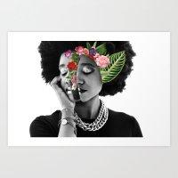 everything i am Art Print