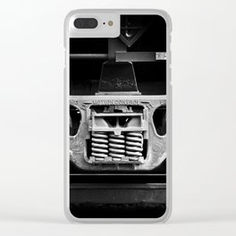 have oil will travel Clear iPhone Case