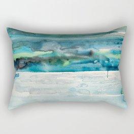 Miami Beach Watercolor #5 Rectangular Pillow