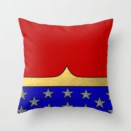 Wonder Hero Throw Pillow
