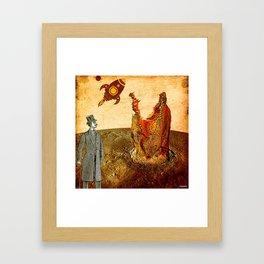 Benoit Réctangle  sur Uranus  Framed Art Print