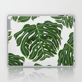 Monstera Pug Laptop & iPad Skin