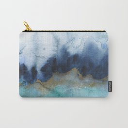 Mystic abstract watercolor Carry-All Pouch