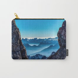Moutain sky ice blue Carry-All Pouch