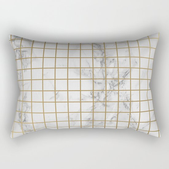 Marble #12 Rectangular Pillow