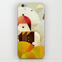 birdman iPhone & iPod Skins featuring Birdman by Squizzato