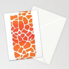 Giraffe Print   Animals Stationery Cards