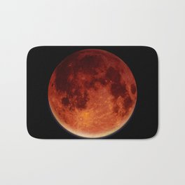 Super Blood Moon Bath Mat