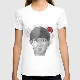 S.coups flower boy T-shirt