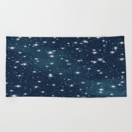 sky-863 Beach Towel