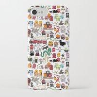 dumbledore iPhone & iPod Cases featuring Kawaii Harry Potter Doodle by KiraKiraDoodles