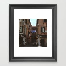 Calle Marcello Framed Art Print
