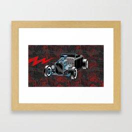 Built For Speed II Framed Art Print