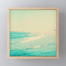 beach sunday II Framed Mini Art Print