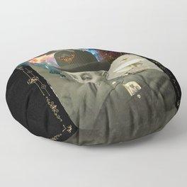 Odd Scientist Floor Pillow
