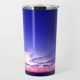 Big Sky Sunset Travel Mug