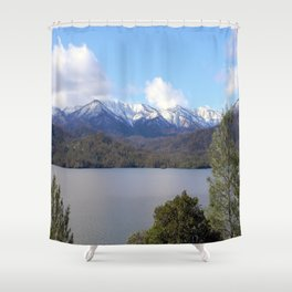 Winter at Whiskeytown Lake Shower Curtain
