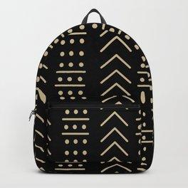 Mudcloth Black II Backpack