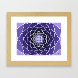 Sacred Lotus Framed Art Print