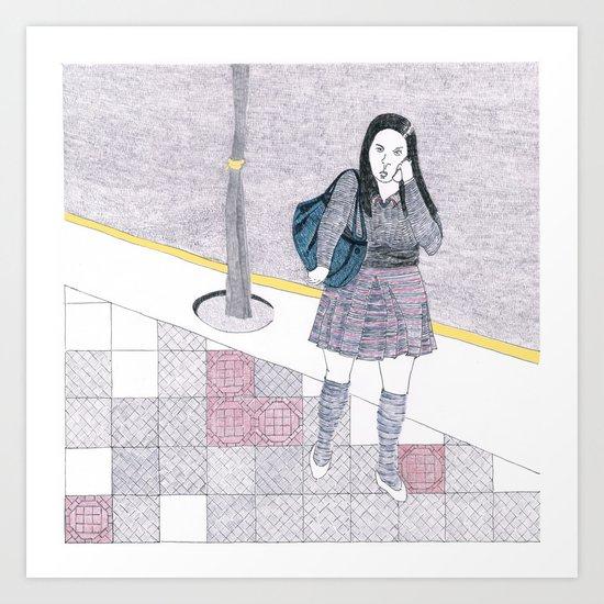 santiago1 Art Print
