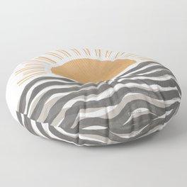Waft Sun-Grey Floor Pillow
