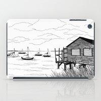 wind iPad Cases featuring Wind by Aleksandra Kabakova