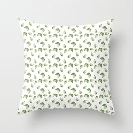 Watercolour Avocado Pattern Throw Pillow
