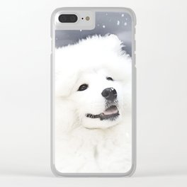 """"""" Winter's Touch """" Clear iPhone Case"""