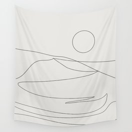 Abstract Landcape 15A Wall Tapestry