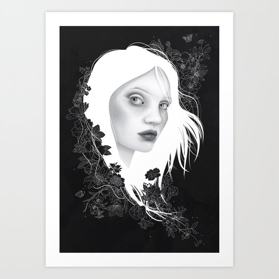 Here With You II Art Print
