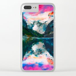Fjord in Norway Clear iPhone Case