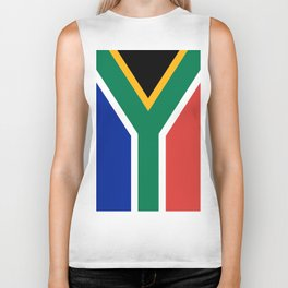 Flag of South Africa Biker Tank