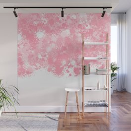 paint splatter on gradient pattern bbpw Wall Mural