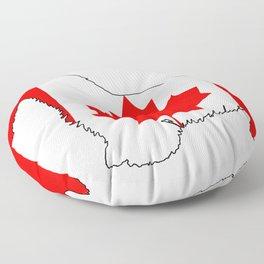 """Scottish Terrier """"Canada"""" Floor Pillow"""