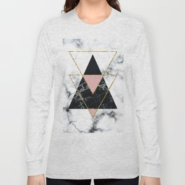 Geo glam marble Long Sleeve T-shirt