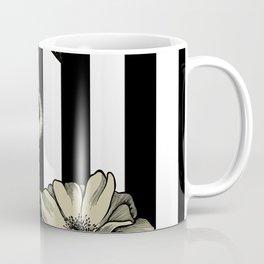 Stripe Flamingo Coffee Mug